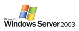 Windows serveur 2003
